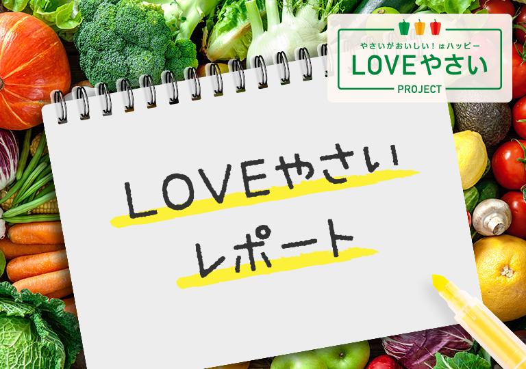 LOVEやさいPROJECT LOVEやさいレポート